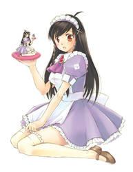 Mirai Purple Maid by dannychoo