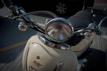 Classic Motorcycle by sergionajarro