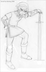 Link sketch by deviantbluebug
