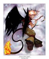Beware Fallen Angels by deviantbluebug