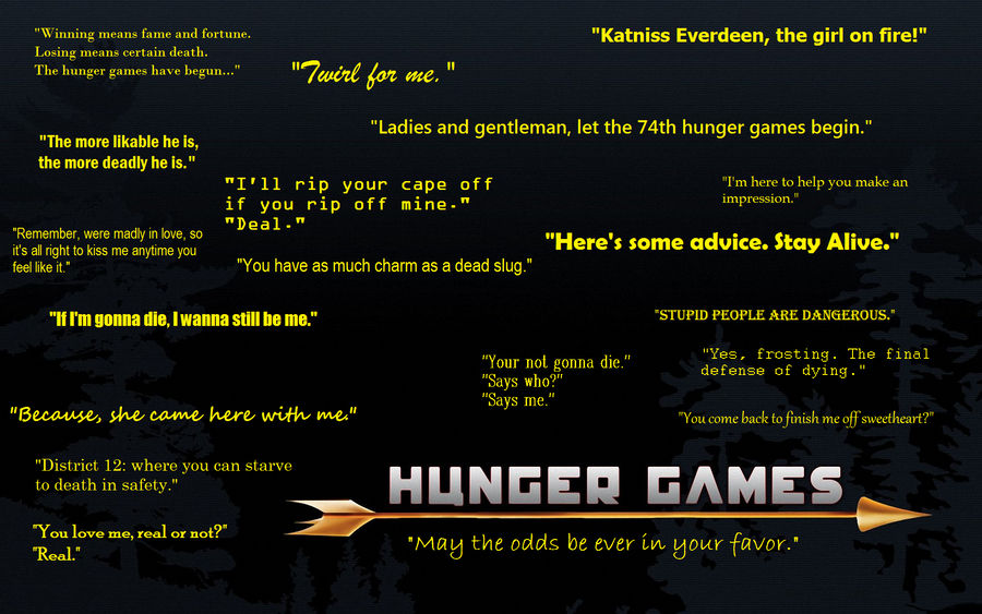 Hunger Games Quotes By Tureis On Deviantart