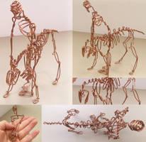 Skeletal Cowboy by JPCopper