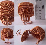 Pixie Skull Ring Box by JPCopper