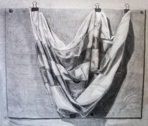 Cloth Study by Qua-si