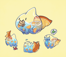 Of Sharks and Oranges (August DTA entry) by missDevichi