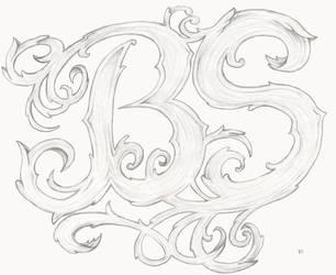 my initials by bsguru