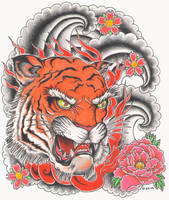 Tiger by bsguru