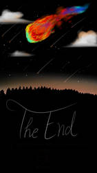 Comet Of The End by Worldprotectors