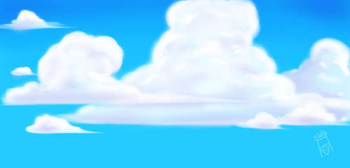 Blue Sky by Worldprotectors