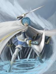Puella Magi Madoka Magica: Miki Sayaka by LiewJJ