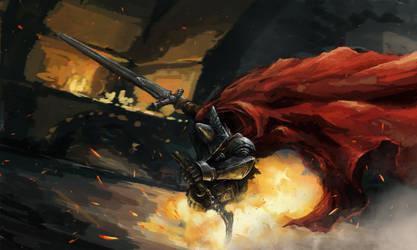 Dark Souls 3 - Abyss Watcher by LiewJJ