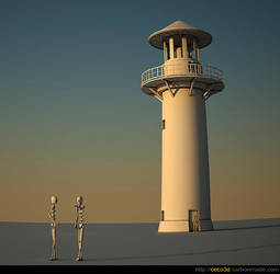 The Lighthouse by cecobesnia