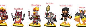 Skylanders Eris's League - Fire by JoltikLover