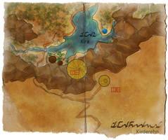 Kirderehn - Map by CassiopeiaArt