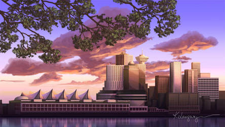 Vancouver by CassiopeiaArt