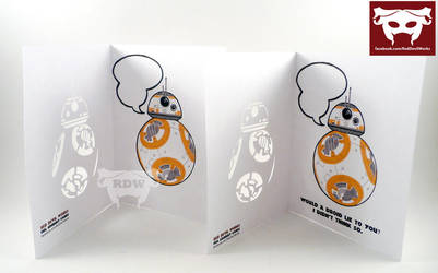 BB8 Cards by leighanief