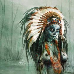 _breath in - the voodoo demon_ by MrEz