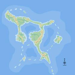 Island map by Paladin-errant