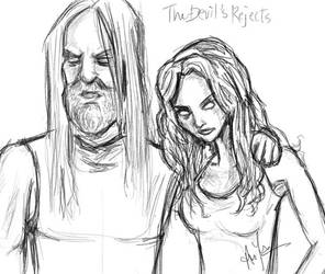 the devil's rejects sketch by duxxie