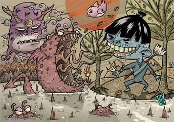 monster hunter part 4 by monez04