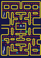 Redbull in pacman. by jessizxz