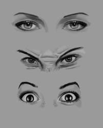 Eye studies by elyaradine