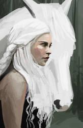 Daenerys photo study by elyaradine