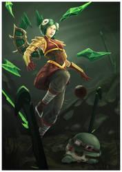 Irelia - League of Legends by elyaradine