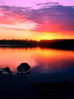 Alaska Summer Sunset by Last-Remnant