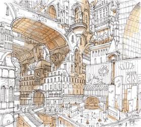 2nd renovation of Paris by matsukitchi