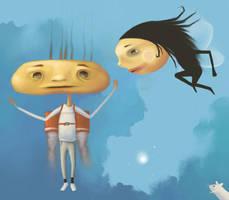 Rocketboy and Flygirl by OKODAMA
