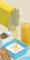Plastic Breakfast by OKODAMA