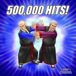 Spirit Warriors 500,000 Hits by SpiritWarriors