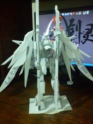 ZGMF-X42S Destiny papercraft 2 by IshZakI