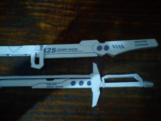 ZGMF-X42S Destiny papercraft 4 by IshZakI