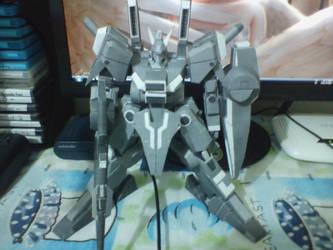 ORX-013 Gundam Mk. V papercraft 1 by IshZakI