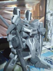ORX-013 Gundam Mk. V papercraft 2 by IshZakI