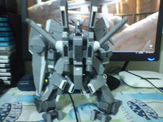 ORX-013 Gundam Mk. V papercraft 3 by IshZakI