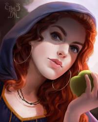 Poisoned apple by Pepe-Navarro
