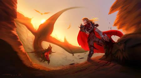 Dragon Killer by Pepe-Navarro