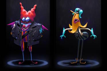 Characters  by Pepe-Navarro