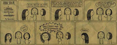 Anna Sour: Invalid Discussions (Veg vs Hum) by Sulirium