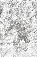 Swamp Thing (pencils) again! by BrianSoriano
