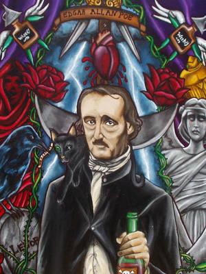 Edgar Allan Poe by MarjorieCarmona