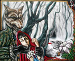 Little red riding hood by MarjorieCarmona