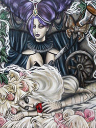 Sleeping beauty by MarjorieCarmona