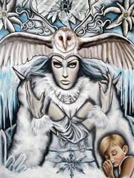 Snow Queen by MarjorieCarmona