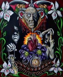 The Tell-Tale heart by MarjorieCarmona