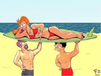 Phyllis Swimsuit Issue by Gulliver63