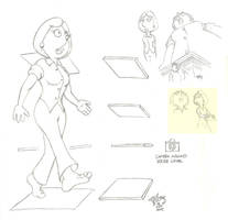 Lois Perspective Doodles by Gulliver63